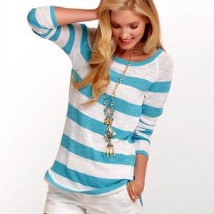 Lilly Pulitzer Paige Striped Pullover Sweater